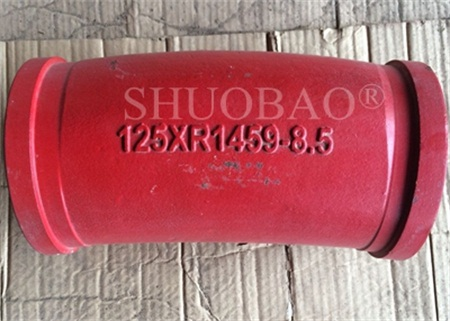Concrete Casting Elbow Boom Wear Resistant Bend Piper1459 8.5°
