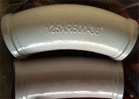 Concrete Casting Elbow Boom Wear Resistant Bend Pipe R500 36°