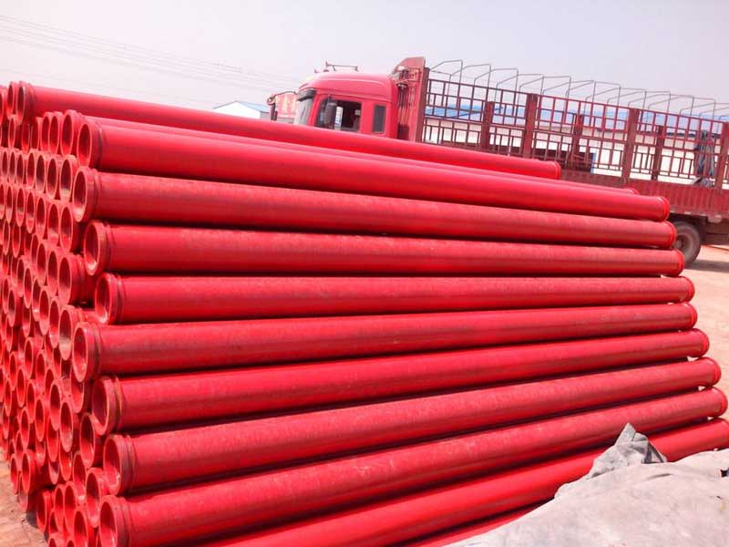 stationary pump pipe